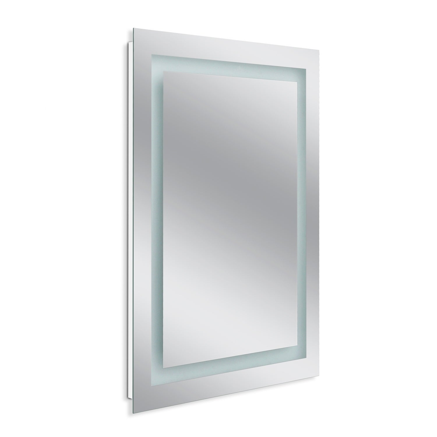 Headwest 24 X 32 Led Rectangle Wall Mirror Frosted