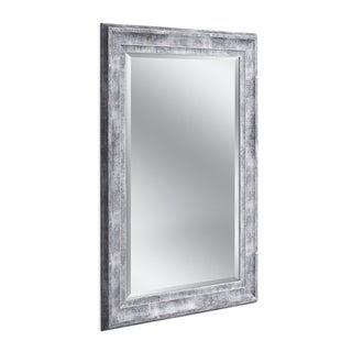 Headwest 31 x 43 Frarmhouse Gray Wall Mirror - 31 x 43