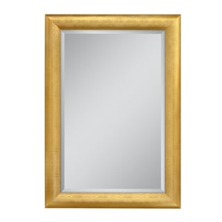 Headwest 30 x 42 Gold Pave Weave Wall Mirror - 30 x 42