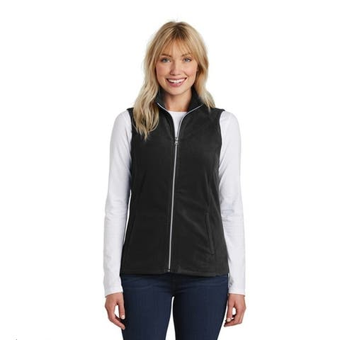 Port Authority Microfleece Athletic Fleece Vest, Colors Galore