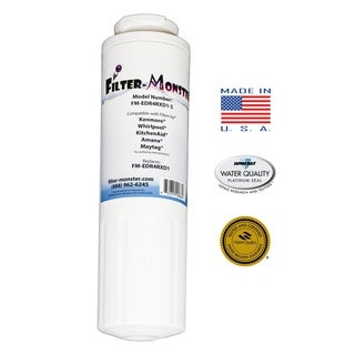 Replacement Compatible with Whirlpool EDR4RXD1 Refrigerator Filter - White