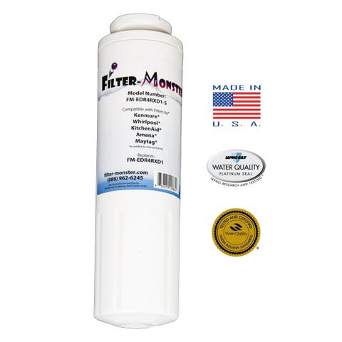 REPLACEMENT Refrigerator filter for Kenmore, Whirlpool, KitchenAid, Amana and Maytag - White