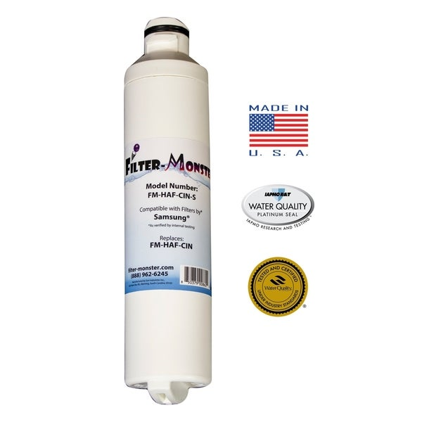 Replacement Compatible with Samsung DA29-00020B Refrigerator Filter - White