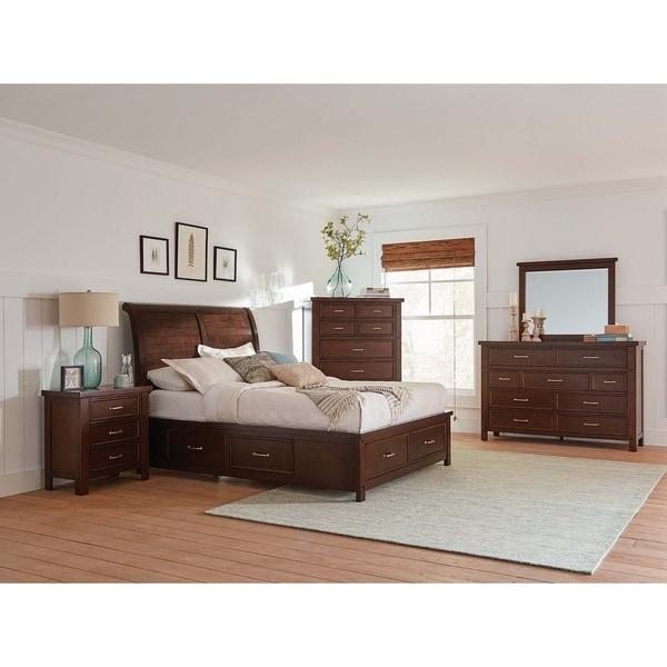 Copper Grove Pruzhany 4-piece Storage Bedroom Set