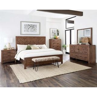 Carbon Loft Gomer Brown 5-piece Bedroom Set