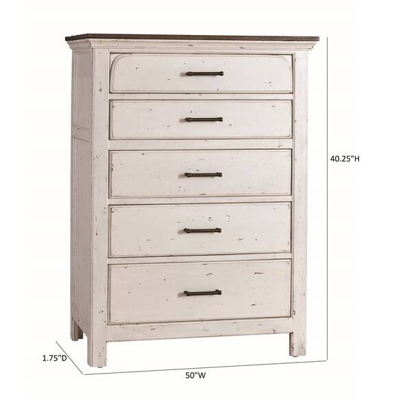 Copper Grove Ivanovo 5 Drawer Chest