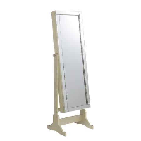The Gray Barn Wilset Champagne Jewelry Mirror