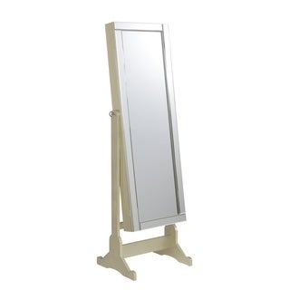 Champagne Jewelry Cheval Mirror
