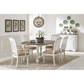 """The Gray Barn Hill Dale Oval Dining Table - 49"""" x 30"""" x 74"""""""