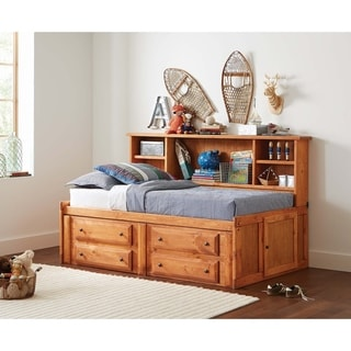 Wrangle Hill Amber Wash Twin Storage Daybed