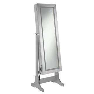 Silver Jewelry Cheval Mirror