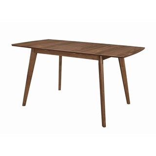 "Link to Carson Carrington Funen Natural Walnut Rectangular Dining Table - 31.50"" x 30"" x 63"" Similar Items in Dining Room & Bar Furniture"