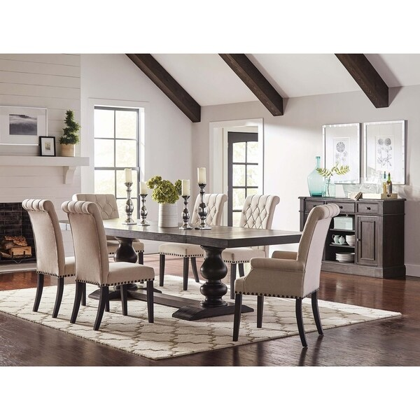 20 Hassle Free Zen Dining Room Decorating Ideas: Shop Copper Grove Rouel Antique Hardwood Dining Table