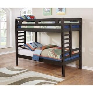 Taylor & Olive Hale Dark Grey Bunk Bed