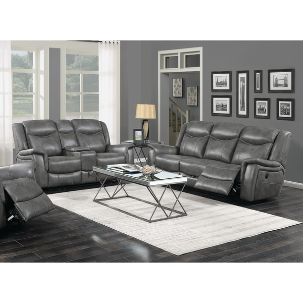 Copper Grove Beauraing Grey 2-piece Living Room Set