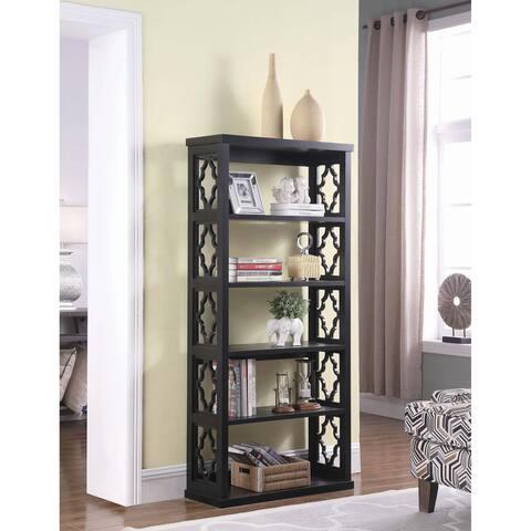 Copper Grove Bilzen Trellis Panel Side Bookcase