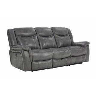 """Copper Grove Beauraing Grey Motion Sofa - 87.50"""" x 41"""" x 40"""""""