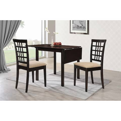 """Copper Grove Kobrin Dining Table with Drop-leaf Extension - 30"""" x 30"""" x 52"""""""