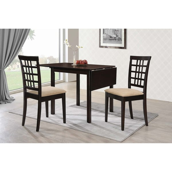 Copper Grove Kobrin Dining Table With Drop Leaf Extension On Free Shipping Today 25860151