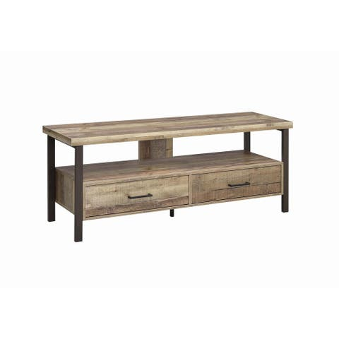 """Carbon Loft Wilson Weathered Pine 59-inch TV Console - 59"""""""