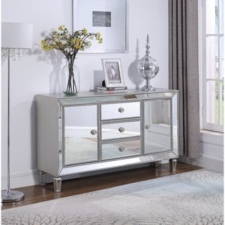 Link to Champagne Silver 3-drawer Accent Cabinet Similar Items in Dining Room & Bar Furniture