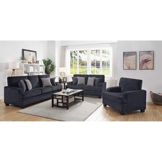 Copper Grove Oshmyany Grey 3-piece Living Room Set
