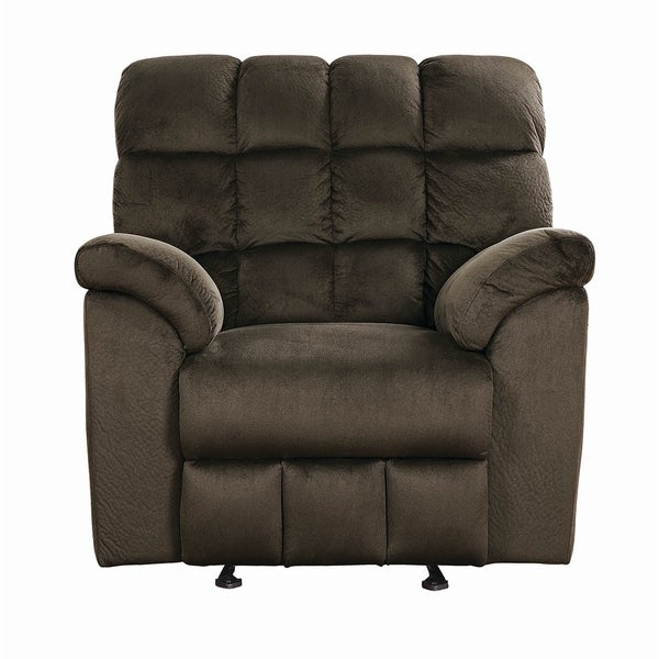 Atmore Chocolate Glider Recliner