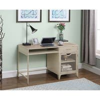Weathered Pine 1-drawer Writing Desk