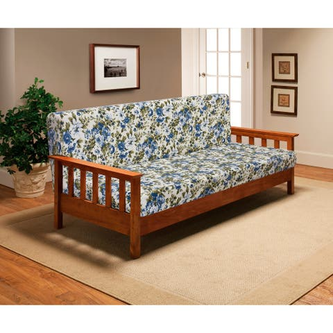 Floral Heavy weight Jersey Futon Cover
