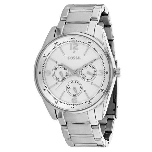 478c6293489 Shop Fossil Women s Classic BQ3200SET Watch - N A - Free Shipping Today -  Overstock - 25860550