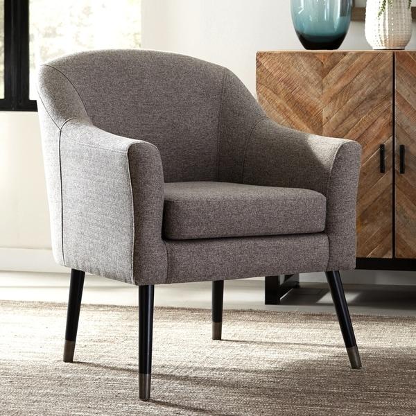 Shop Mid-Century Modern Design Grey Living Room Accent ...
