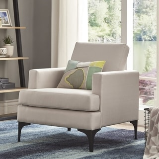Shop Rollx Linen Accent Chair On Sale Free Shipping