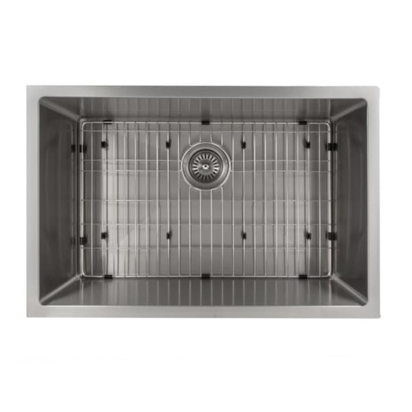 Zline 27 Inch Undermount Single Bowl Sink In Stainless Steel