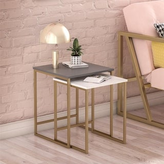 CosmoLiving by Cosmopolitan Scarlett Nesting Tables