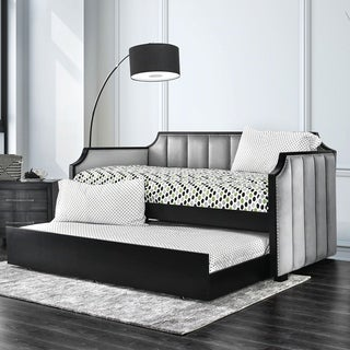 Furniture of America Collinsworth 2-Piece Day Bed Set with Trundle