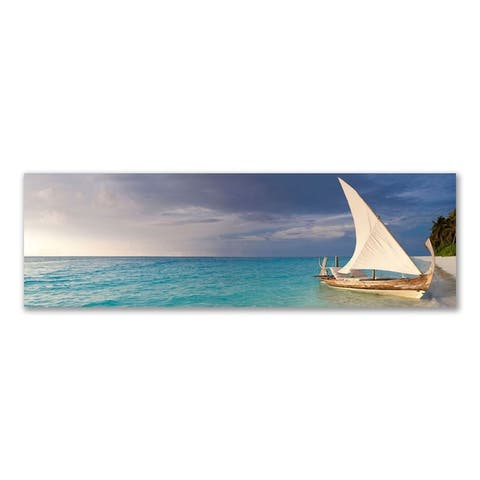 Colossal Images - Your Boat Awaits You, Canvas Wall Art - Multi-color