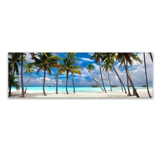 Christopher Knight Collection Perfect Beach  ,  Canvas Wall Art - Multi-color