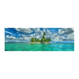 Christopher Knight Collection : Island Getaway  Canvas Wall Art - Multi-color