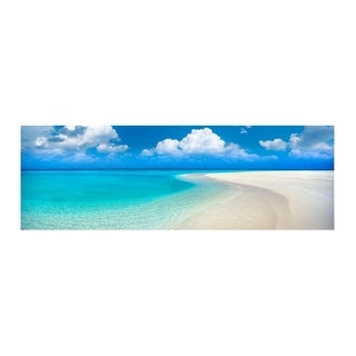 """Christopher Knight Collection: """"Paradise Point""""  Canvas Wall Art - Multi-color"""