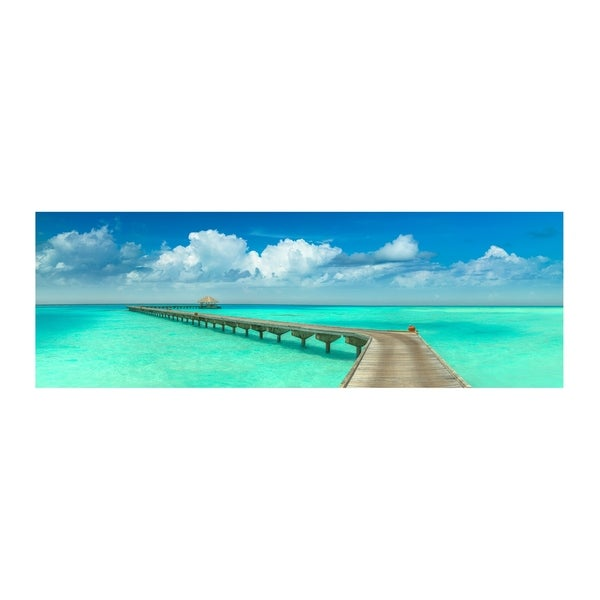 Christopher Knight Collection : Paradise Walk Canvas Wall Art - Multi-color