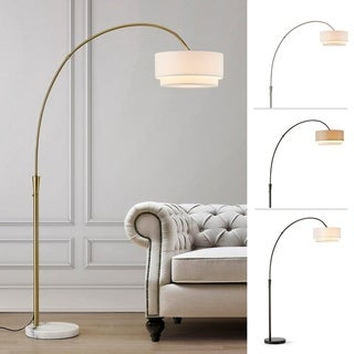 Link to Carson Carrington Flam 81-inch Arch Floor Lamp Similar Items in Floor Lamps