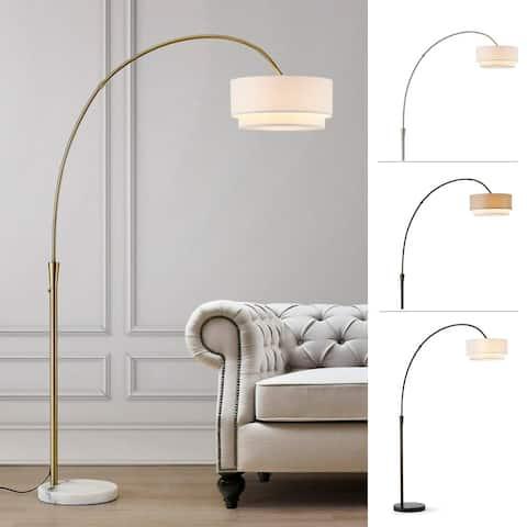 Carson Carrington Flam 81-inch Arch Floor Lamp