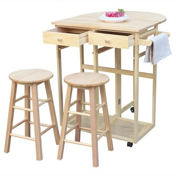 This Handy Kitchen Cart Brings Both A Refreshing Cottage Style And Some Much Needed Functionality To Your Dining E Sitting On Top Of Caster