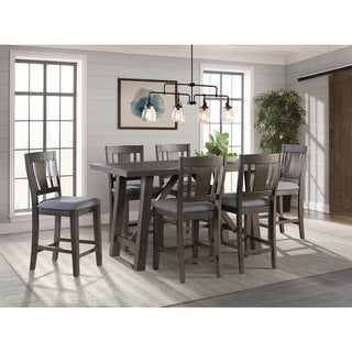 Picket House Furnishings Carter Counter Height 7PC Dining Set-Table & Six Chairs
