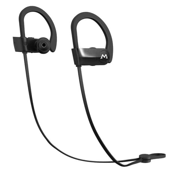 cc770295db5 Mpow D7 [Upgraded] Bluetooth Headphones, IPX7 Waterproof Sport Earphones w/ Mic