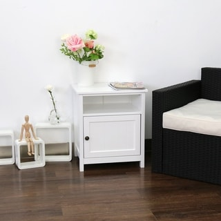 Porch & Den Gatto Storage Nightstand