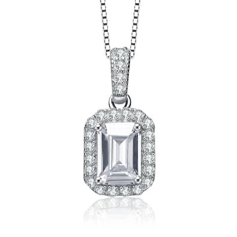 b9f3f6d843c0a Buy Emerald Cubic Zirconia Necklaces Online at Overstock | Our Best ...