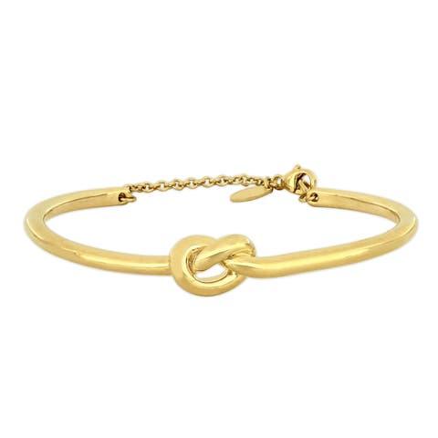 Miadora 18k Yellow Gold Love Knot Bangle