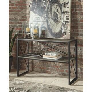 Harzoni Sofa Table - Grayish Brown