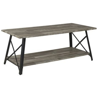 Harzoni Coffee Table - Grayish Brown